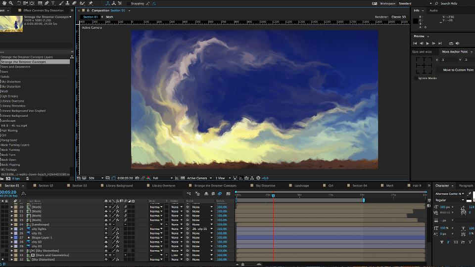Strange Creation Process 02