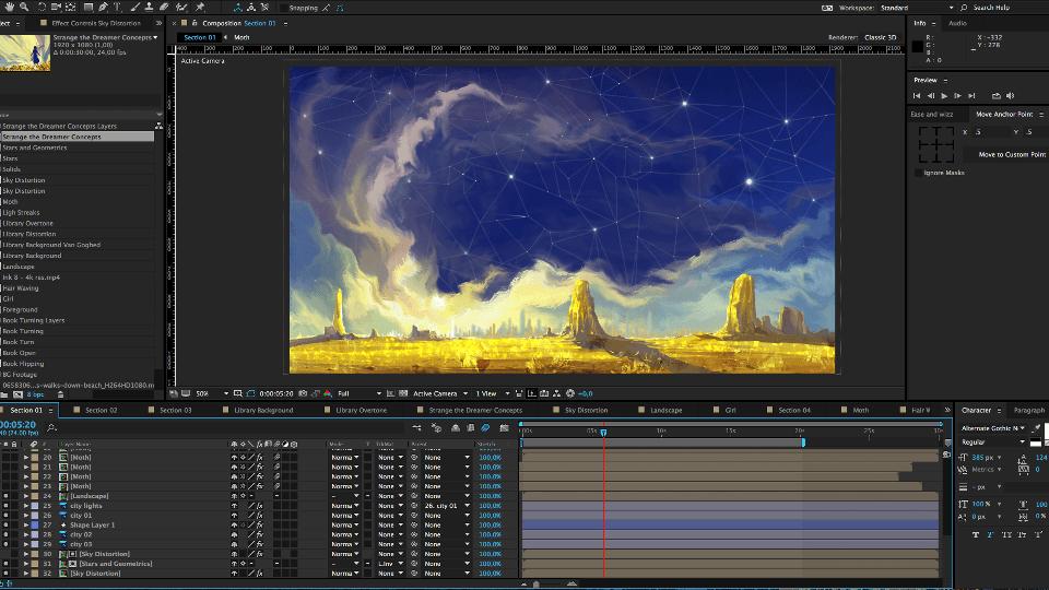 Strange Creation Process 03