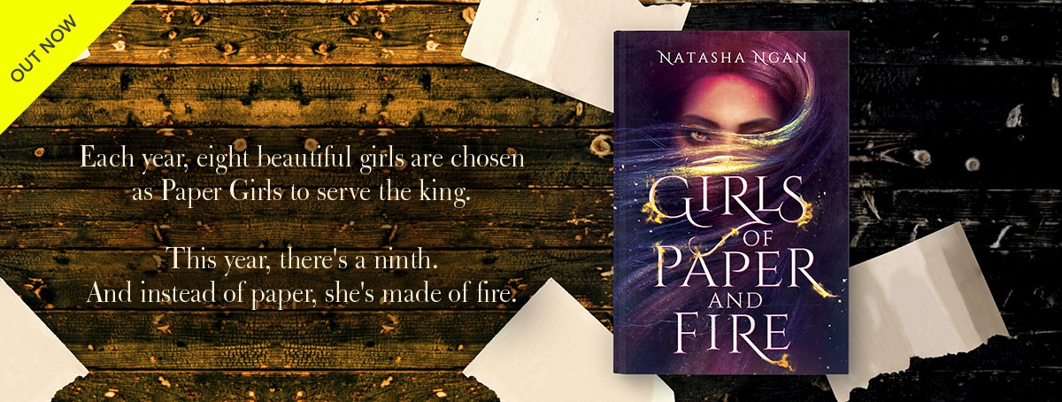 OUT NOW - the stunning YA fantasy novel Girls of Paper and Fire