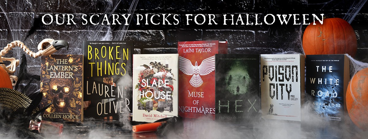 The Hodderscape Team pick their favourte books for Halloween