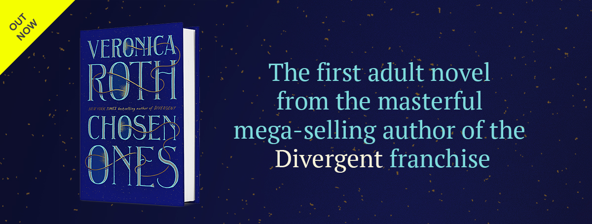 The first adult novel from the author of Divergent.